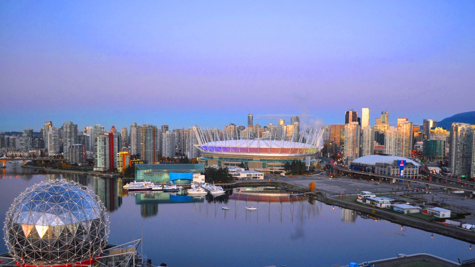 Things to Do in Vancouver - City Skyline with BC Place Stadium