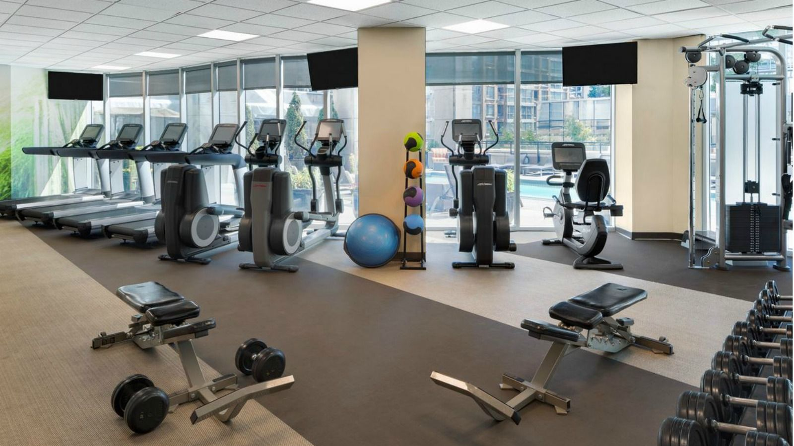 Vancouver Hotel Features - Fitness Center